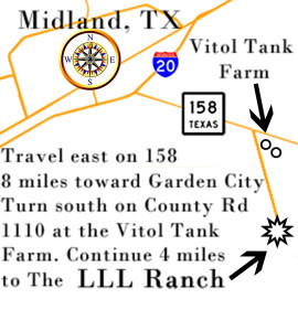 Map to Ranch Brochure size